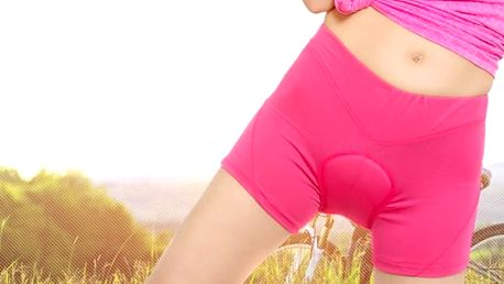 Cyklistické spodní prádlo pro ženy