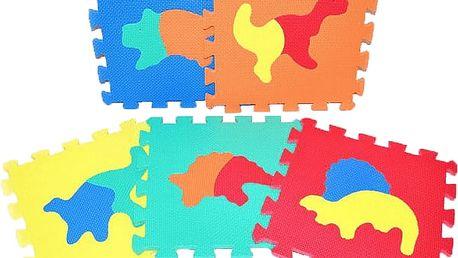 WIKY TEDDIES Pěnové puzzle Dinosauři 10 ks