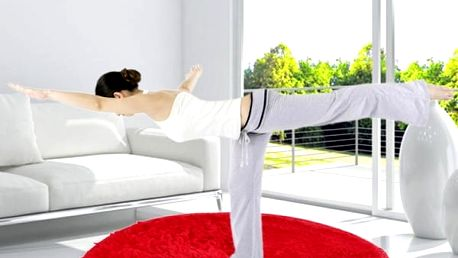 Kulatý kobereček do bytu - průměr 82 cm