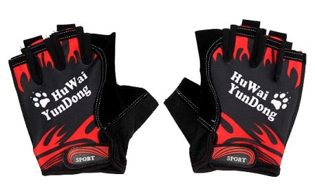 Prodyšné cyklistické rukavice bez prstů - 3 barvy