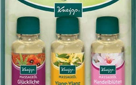 KNEIPP Masážní oleje - dárková sada (3x20ml)