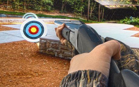 Projekční střelnice až pro 4 hráče - 30 či 60 minut