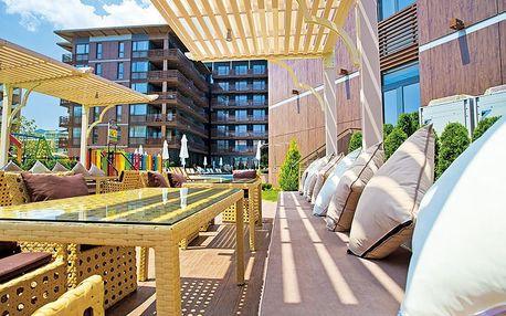 Hotel Galeon Residence & Spa, Bulharsko, Černomořské pobřeží, 8 dní, Letecká, Snídaně, ★★★★★, sleva 26 %, bonus (Levné parkování u letiště: 8 dní 499,- | 12 dní 749,- | 16 dní 899,- )