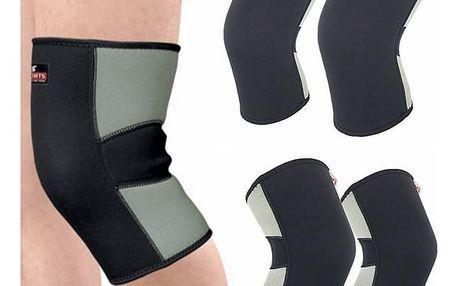 Neoprenová podpora kolene - dvě velikosti