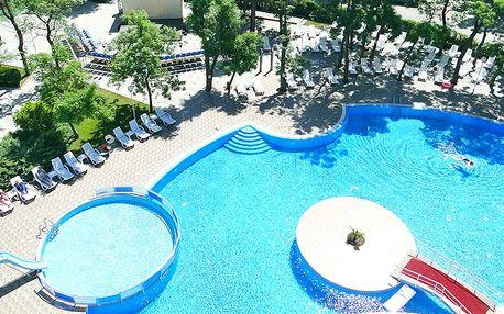 Hotel Mpm Kalina Garden, Bulharsko, Černomořské pobřeží, 8 dní, Letecky, All inclusive, ★★★★, sleva 21 %, bonus (Levné parkování u letiště: 8 dní 499,- | 12 dní 749,- | 16 dní 899,- , 500 Kč na plavky)