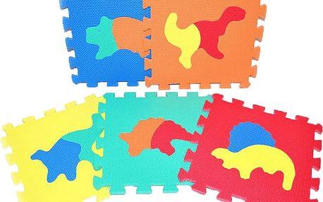 Teddies Pěnové puzzle Dinosauři 30 x 30 cm