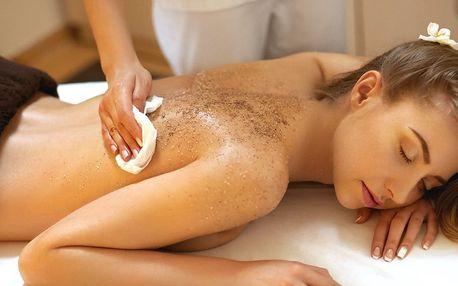 Odpočinek pro celé tělo: Peeling, zábal i masáž