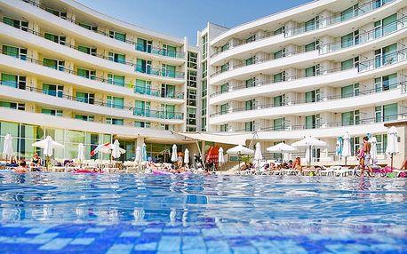 Hotel Festa Panorama, Bulharsko, Černomořské pobřeží, 8 dní, Letecky, All inclusive, ★★★★, sleva 27 %, bonus (Levné parkování u letiště: 8 dní 499,- | 12 dní 749,- | 16 dní 899,- , 500 Kč na plavky)