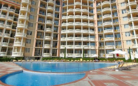 Hotel Andalusia/atrium, Bulharsko, Černomořské pobřeží, 8 dní, Letecky, All inclusive, ★★★, sleva 27 %, bonus (Levné parkování u letiště: 8 dní 499,- | 12 dní 749,- | 16 dní 899,- , 500 Kč na plavky)