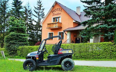 3denní výlet na Valašsku, piknik a jízda buginou