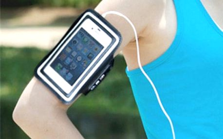 Sportovní pouzdro na mobilní telefon na ruku