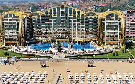 Hotel Victoria Palace, Bulharsko, Černomořské pobřeží, 8 dní, Letecká, Snídaně, ★★★★, sleva 21 %, bonus (Levné parkování u letiště: 8 dní 499,- | 12 dní 749,- | 16 dní 899,- )