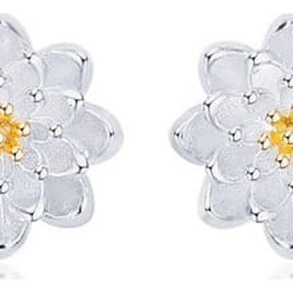 Náušnice - lotosový květ