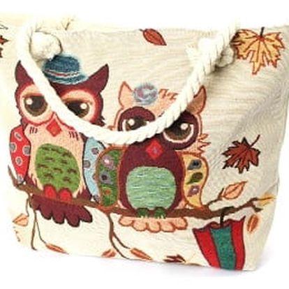 Dámská plážová taška OWL