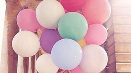Obří nafukovací balónek - mix barev