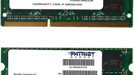 Patriot Mac Series Line 16GB (2x8GB) DDR3 1333 SODIMM CL 9 - PSA316G1333SK