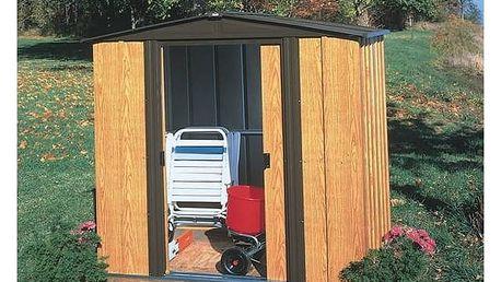 Zahradní domek Arrow Woodlake 65 + Aku vrtačka Einhell BCD 18/1 2B Bavaria Black v hodnotě 899 Kč + Doprava zdarma
