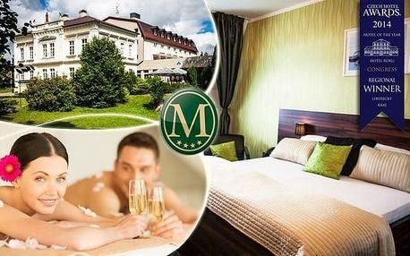 Nový Bor: relaxační pobyt pro dva