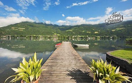 Rakousko u jezera se soukromou pláží