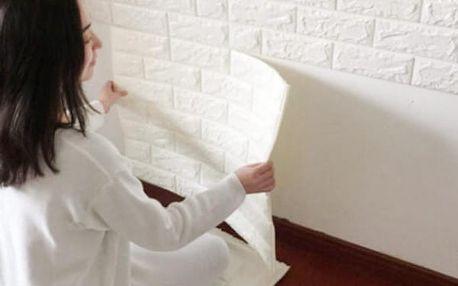 3D pěnová samolepka na zeď - Cihla - 9 barev