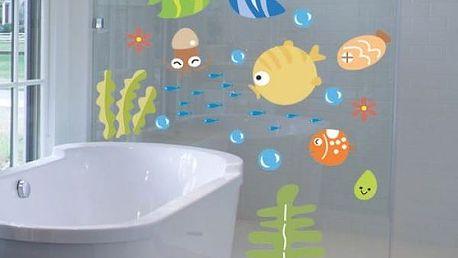 Samolepka do koupelny - Podmořský svět