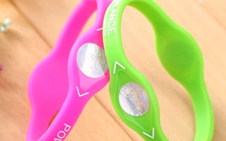 Silikonový náramek pro sport a energii