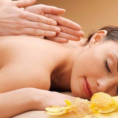Relaxační 30minutová masáž se zábalem