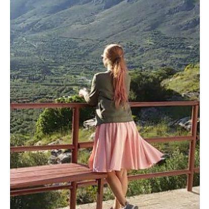 Dámská áčková midi sukně Rheta