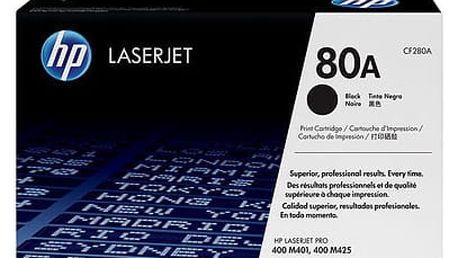 HP CF280A, černá