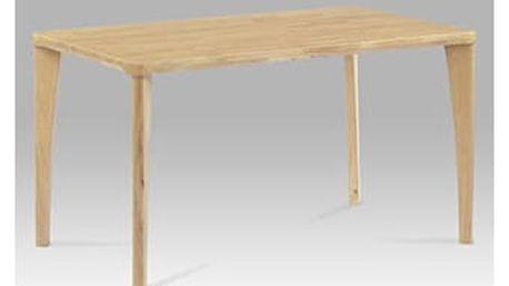 Jídelní stůl 135x80, barva bělený dub