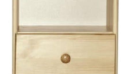 Noční stolek Tina S1 borovice