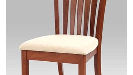 židle BEZ SEDÁKU, barva třešeň