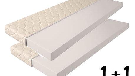 Pěnová matrace 14cm 90x200 cm 1+1