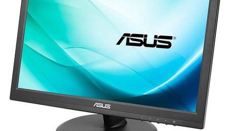 """ASUS VT168N - LED monitor 16"""" - 90LM02G1-B01170 + Čisticí utěrka z mikrovlákna C-TECH CPM-001R (v ceně 119,-)"""