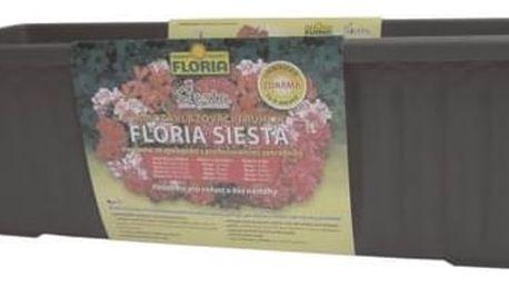 Truhlík Agro FLORIA SIESTA 60 cm - Antracit, samozavlažovací