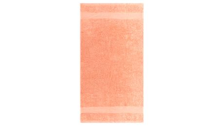Ručník Olivia lososová, 50 x 90 cm