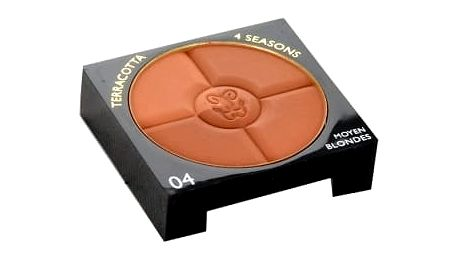 Guerlain Terracotta 4 Seasons Bronzing Powder 5 g bronzer tester pro ženy 04 Moyen - Blondes