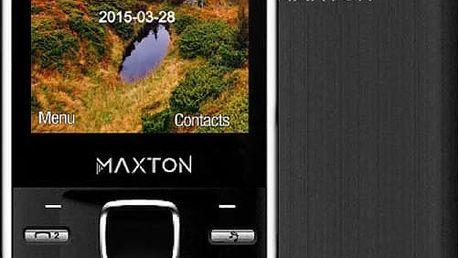 Maxcom Classic M55, Dual Sim, černá