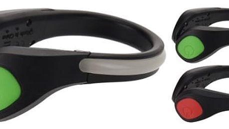Svítící bezpečností pásek na botu v různých barvách