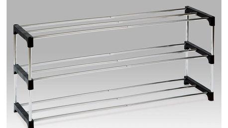 Autronic Botník 83168-21 BK - chrom / černá