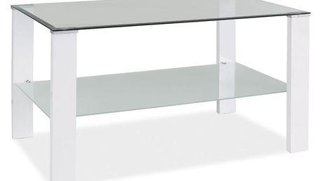 Konferenční stolek KARINA C - bílý lak