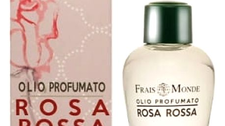 Frais Monde Red Rose 12 ml parfémovaný olej pro ženy