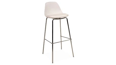 Barová židle C-330 bílá