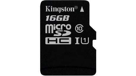 Kingston Micro SDHC 16GB Class 10 UHS-I - SDC10G2/16GBSP