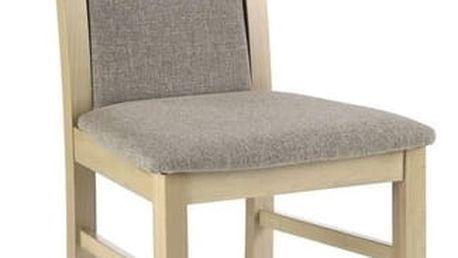 Dřevěná židle Citrone dub sonoma