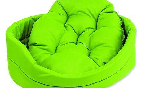 Pelech Dog Fantasy ovál s polštářem zelený 42cm
