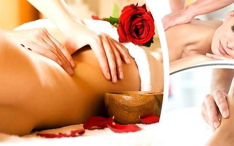 Dvouhodinová procedura, masáž celého těla + hloubková masáž svalů a reflexní masáž chodidel.