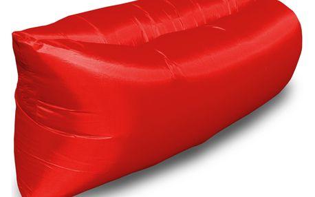 Nafukovací sedací pytel red