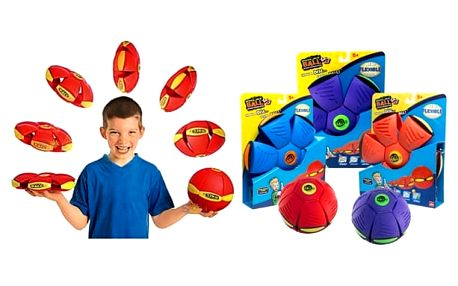 Dětský létající míč - Flat Ball