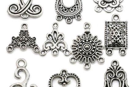 Sada drobných přívěsků pro výrobu šperků - 20 ks